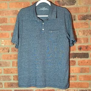 Vineyard Vines Shirts - Vineyard Vines Blue Polo Shirt L